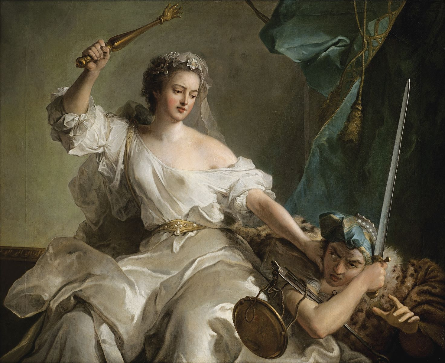 Allegory of Justice Punishing Injustice