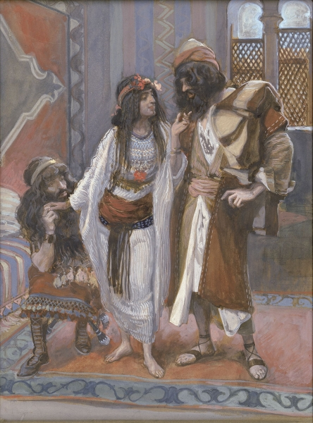 Rahab with the Two Spies
