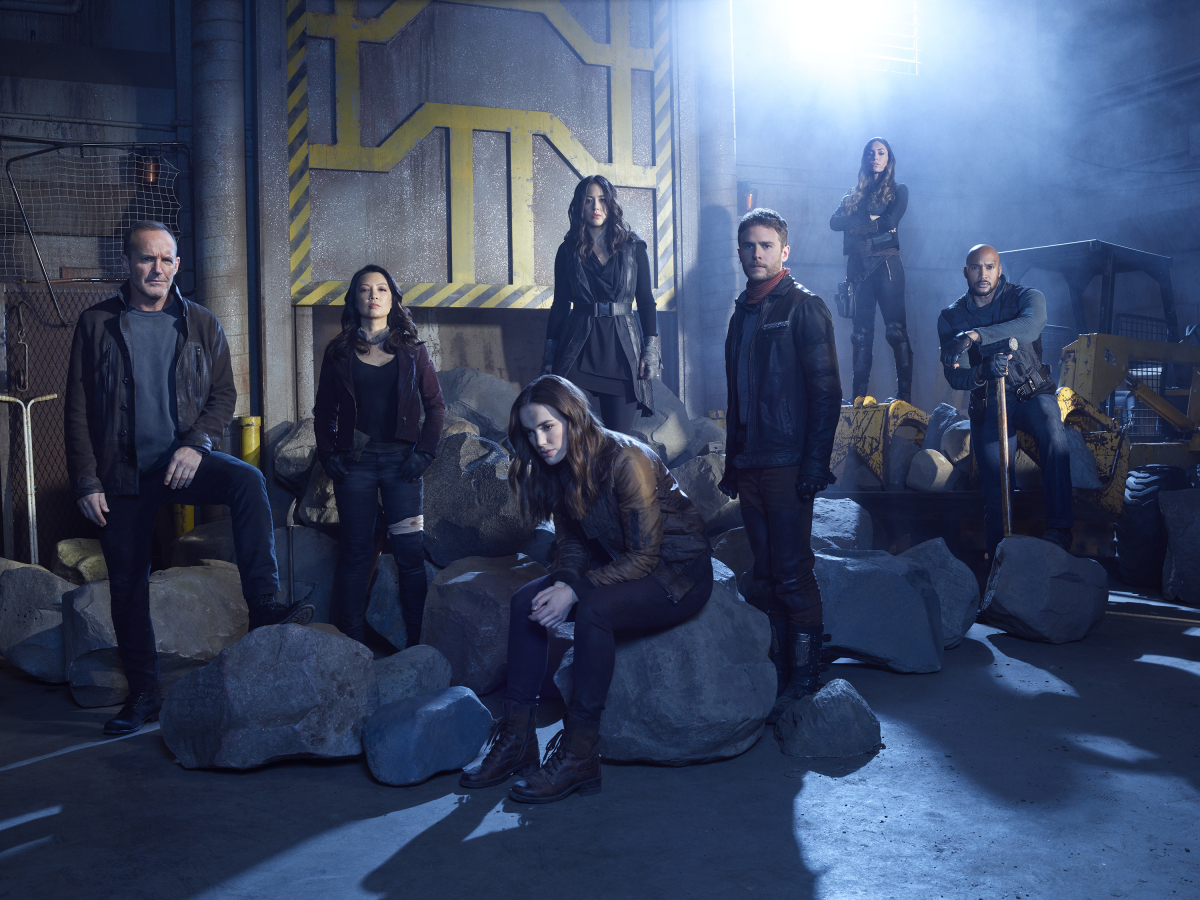 Cast of Agents of Shield